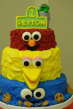 Sesame Street Birthday Cake, Boy 0r Girl
