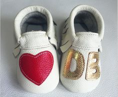 Office Baby Shoesnewborn Shoespersonalised By Albert