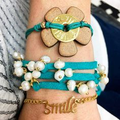 Set By Vila Veloni Fresh Turquoise Bracelets
