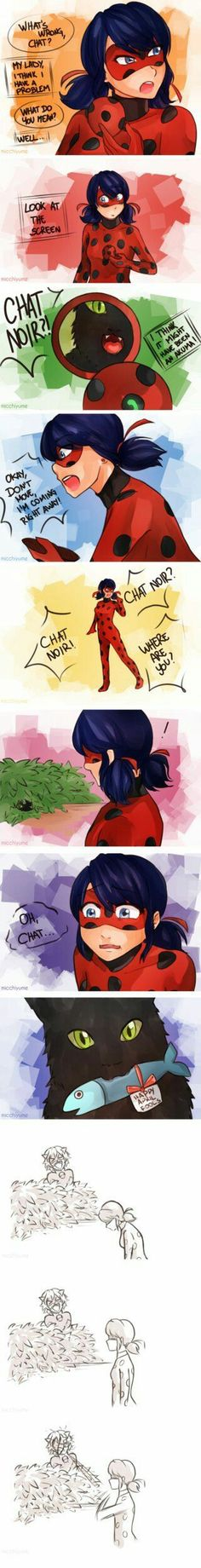 April Fools! (Miraculous Ladybug, Chat Noir, comic)