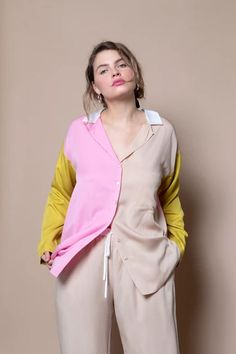 Soft Focus The Lounge Kit - Pink Mix on Garmentory Lounge Pants, 34c, Fabric Material, Bra Sizes, Cami, Night Out, Rain Jacket, Windbreaker, Couture