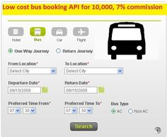 I2space  provides  bus booking engine at low cost. This consist visitors check bus ticket availability, buy bus ticket and pay the bus ticket online system is established for all the home office users after gaining access from the administrator. For more details please contact us at 9052266440 / 9704536531 or visit our website http://www.i2space.com/bus-booking-engine.html