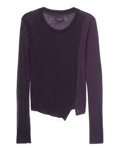 rag  bone Official Store, Eloise Top, eggplant fl, Womens : Ready to Wear : Tops  Shirts : Long S, W235T59JM