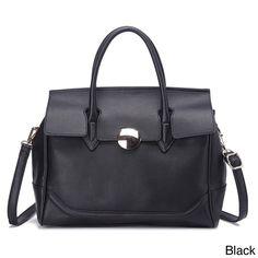 Pink Haley Serena Faux Satchel Handbag, Women's