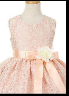 cute lace flower girl dress