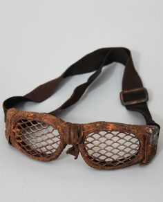 Rusted Goggles Wasteland Weekend Bad Ass Mad by WastedCouture