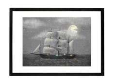 Ghost Ship von Terry Fan, 30 x Kunstdruck Terry Fan, Ghost Ship, Love At First Sight, Wall Art Prints, Artwork, Pictures, Painting, House, Decor