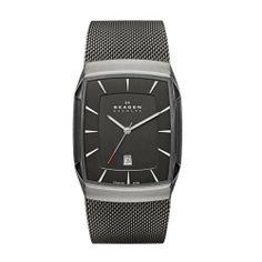 Skagen Aktiv Grey Mesh Men's Titanium Watch Skagen. $155.00