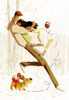 Pascal Campion 'Puppy Love' PascalCampion.deviantart.com on @DeviantArt Family Illustration, Character Illustration, Illustration Art, Pascal Campion, Interracial Art, Wow Art, Hugs, Cute Art, Puppy Love
