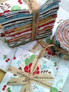 my Sew Cherry fabric line