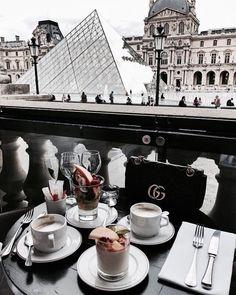 coffee dates! Hora Do Café, Travel Goals, Travel Destinations, Places To Travel, Quotes About Paris, Paris Quotes, Breakfast In Paris, Breakfast Club, Coffee Shot