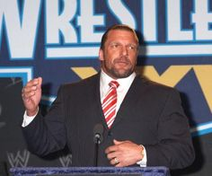 Triple H turns 43 years old today. Send your birthday wishes to the WWE star. Paul Michael, Birthday Wishes, Happy Birthday, Triple H, King Of Kings, Wwe Superstars, Conference, Hollywood, Celebs