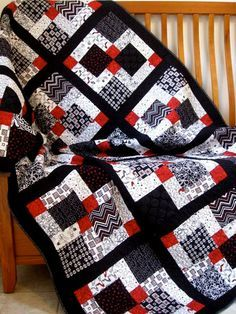 Disappearing nine patch - lovely | Places to Visit | Pinterest ... : popular quilts - Adamdwight.com