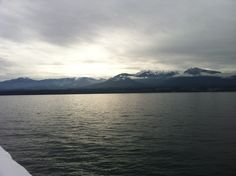 Port Angeles Washington, from the Coho Ferry Port Angeles Washington, Greek Names, Olympic Peninsula, Over The Years, Olympics, Scenery, Places To Visit, To Go, Island