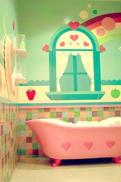 Magical bathroom for my little girl!!