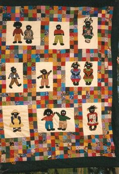 L love golliwogs 3 golliwogs Quilt Patterns, Patchwork Patterns, Quilting Ideas, Dress Patterns, Crafts For Kids To Make, Kids Crafts, Creative Kids Snacks, Sport Craft, African Girl
