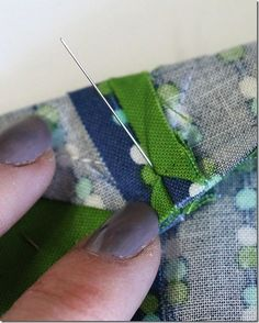 A little tutorial on making practically perfect points in quilt blocks