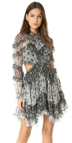 ☆Zimmerman   Divinity Ruffle Dress