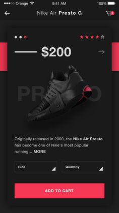 Ecommerce ios app mobile design ui ux nike dribbble full