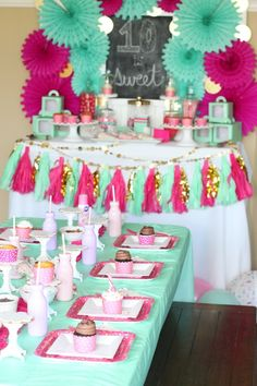 Turning 10 is sweet! Frosting, sprinkles and cupcakes galore, you're invited to battle for the cupcake crown at this Cupcake Wars Birthday Party.
