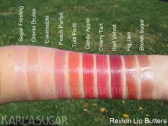 I love Karla Sugar's blog, and I am considering collecting all of the Revlon Lip Butters and never purchasing another lip product again.