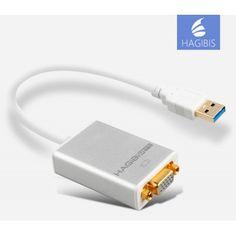 تبدیل USB 3.0 به پورت VGA مارک HAGIBIS