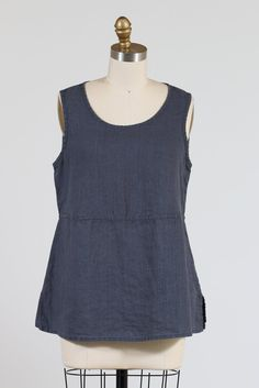 FLAX Boxy Tank, Multiple Colors
