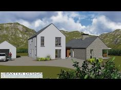Home Design Plans, Plan Design, Exterior Paint, Exterior Design, Sheridan House, House Designs Ireland, Armagh, Farmhouse Renovation, House Floor Plans