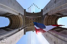Picture of the Day: This isFrance  flyover of the Arc de Triomphe in Paris on Bastille Day (French National Day, July 14)