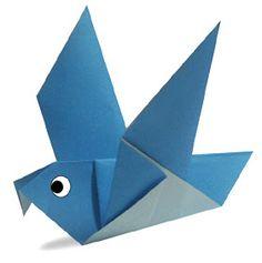 Membuat Origami Burung Merpati | bonikids