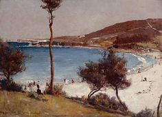Holiday sketch at Coogee, Tom Roberts, 1888, oil on canvas Art Gallery of New South Wales, Sydney.