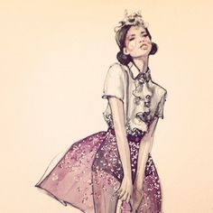 Chanel Iman - illustration by Paperfashion Fashion Models, Girl Fashion, Sparkle Skirt, Chanel Iman, Fashion Design Sketches, Fashion Drawings, Woman Illustration, Fashion Sketchbook, Illustrations Posters