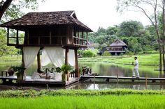 Four Seasons Resort Chiang Mai is a Wedding Venue in Thailand, Chiang Mai. See photos and contact Four Seasons Resort Chiang Mai for a tour. Thai House, Bungalow, Thailand Resorts, Thailand Honeymoon, Thailand Travel, Bamboo House Design, Rest House, Villa, Farm Stay