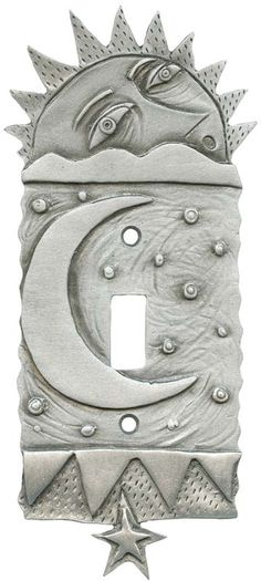 SUN and MOON Switch Plates Image, Outlet Covers, Switchplates