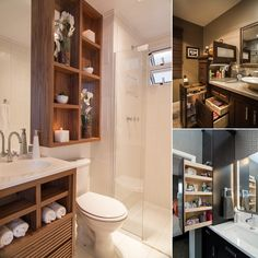 15 Clever Ideas to Boost Your Bathroom's Storage - http://www.amazinginteriordesign.com/15-clever-ideas-to-boost-your-bathrooms-storage/