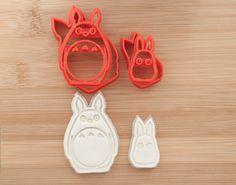 Cookie cutters. Chu Totoro and Chibi Totoro от CoolCookiesCutters