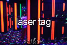ultimate laser tag night!
