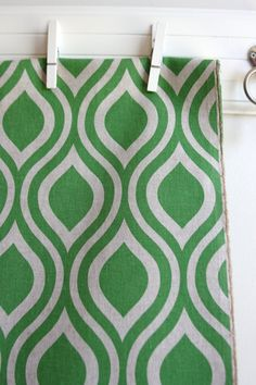 for the bags, and for seat covers Nicole in Organic Green Laken Home Decor Weight Fabric from Premier Prints - ONE YARD Cut