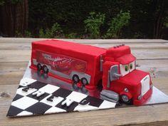 Cars mack cake