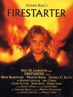 Firestarter | Unknown poster from the movie Firestarter (Firestarter) - click to see ...Good Movie!