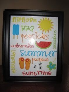 Great subway art printables for the home.