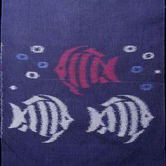 久留米かすり/REtoro 熱帯魚 - kurume kasuri textile online store|久留米絣テキスタイル