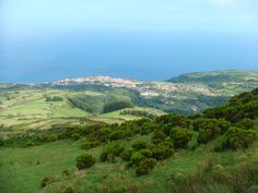Flores, Azores. At the top of my list of places to visit! This is where my great grandparents were born.