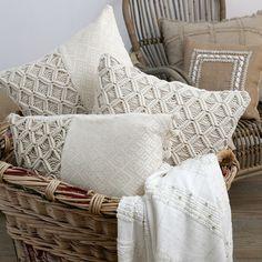 New macrame cushions
