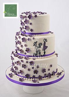 gateau mariage original piece montee escalier  MARIAGE  Pinterest ...