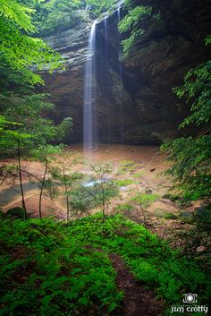 Places of Peace by Jim Crotty | Flickr - Photo Sharing! - Waterfall at Ash Cave in Hocking Hills Ohio