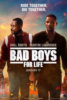 The Bad Boys Mike Lowrey (Will Smith) and Marcus Burnett (Martin Lawrence) are back together for one last ride in the highly anticipated Bad Boys For Life. In theaters January Bad Boys Movie, Bad Boys 1995, Bad Boys 3, Movies For Boys, Good Movies, The Smiths, Martin Lawrence, Michael Bay, Gangsters