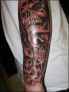 Pin Tribal Demon Tattoos on Pinterest