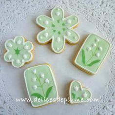 Biscuits décorés Muguet 1er Mai