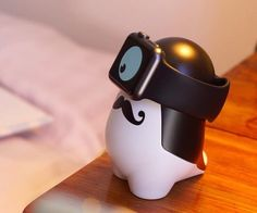 WATCHme Cute #AppleWatch #ChargingStand by Vivien Muller  This monster looks super cute!